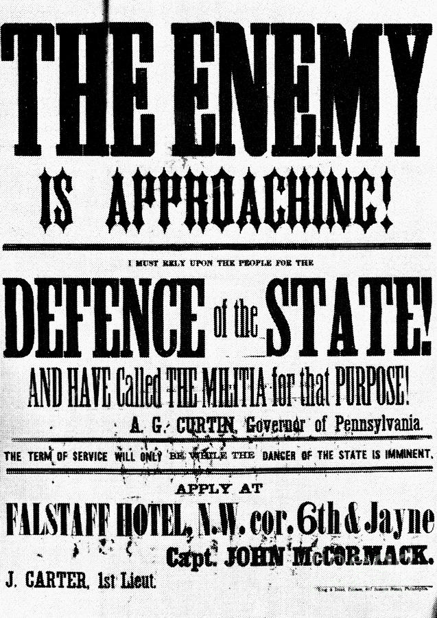 1863 Photograph - Civil War: Lees Campaign by Granger