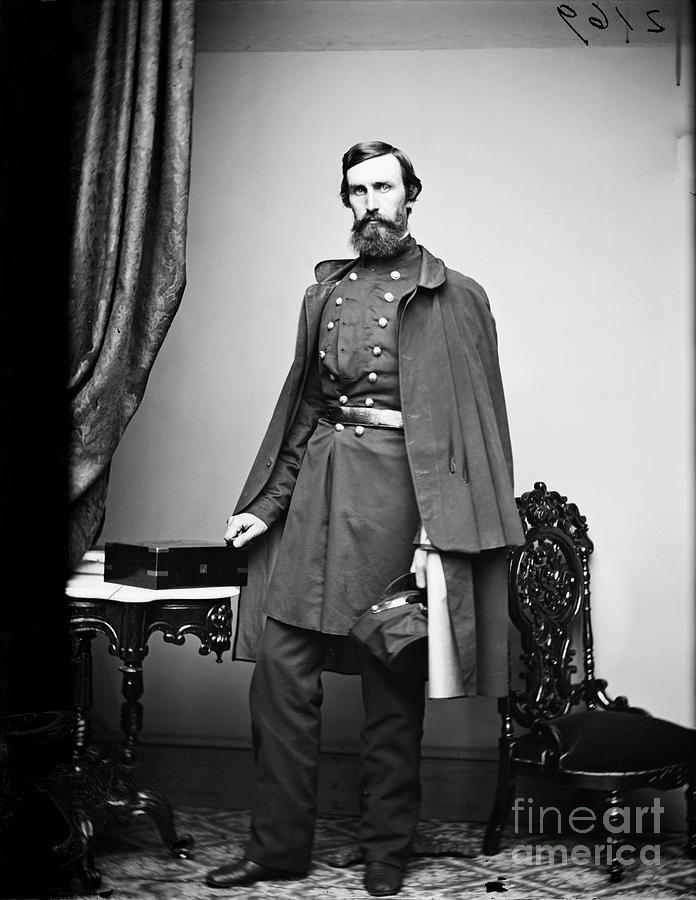 1863 Photograph - Civil War: Paymaster by Granger
