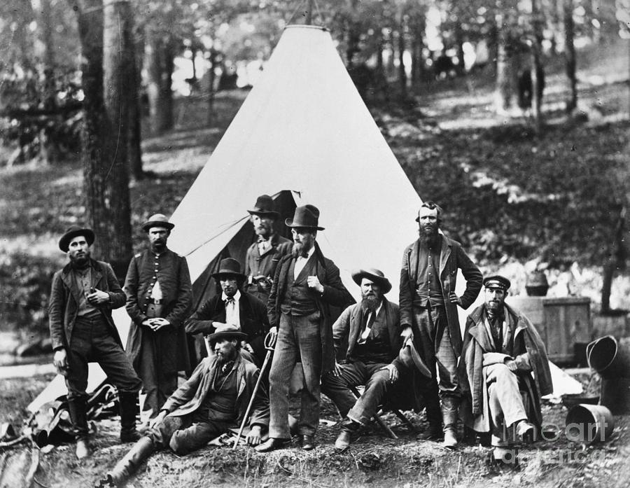 1862 Photograph - Civil War: Scouts, 1862 by Granger