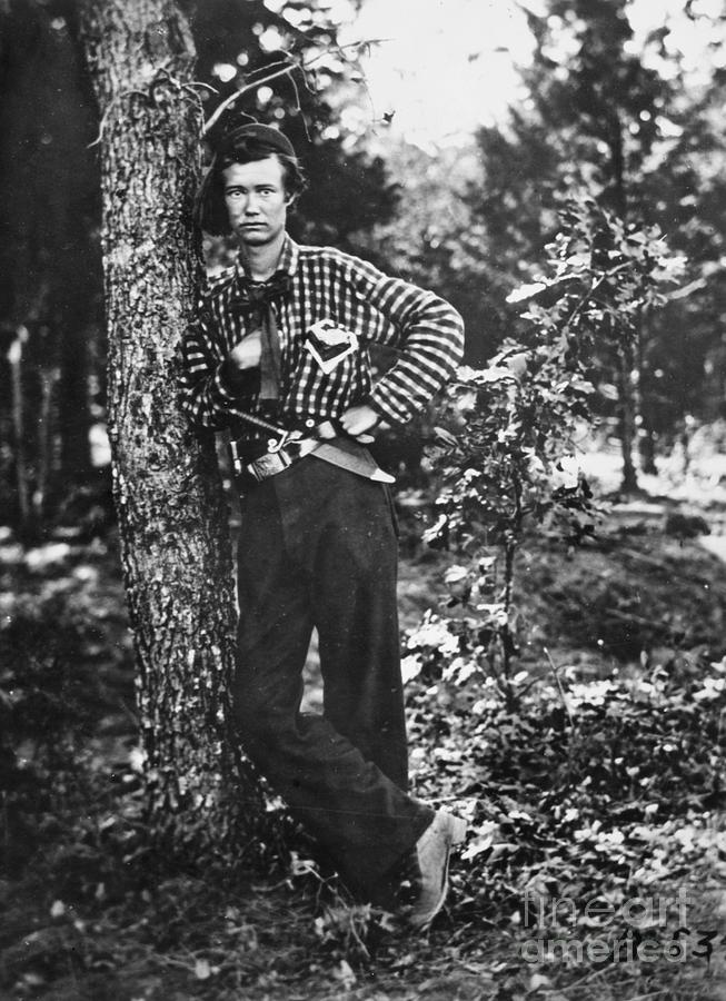 1861 Photograph - Civil War: Soldier, 1861 by Granger