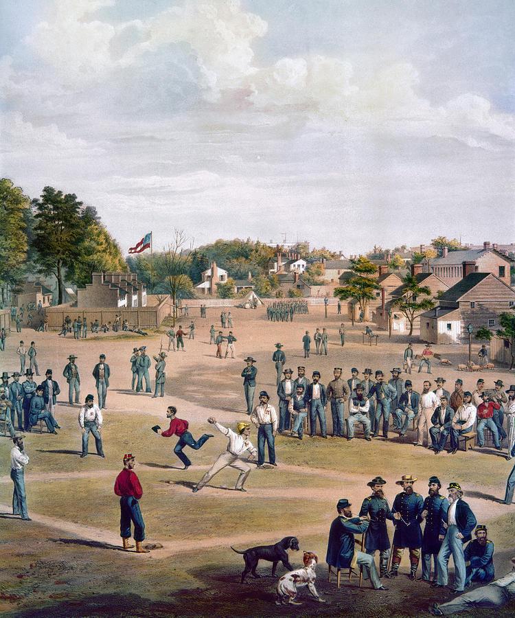 1863 Photograph - Civil War: Union Prisoners by Granger