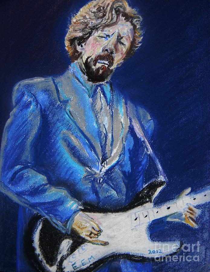 Clapton Pastel - Clapton Jams Blue by Emily Michaud