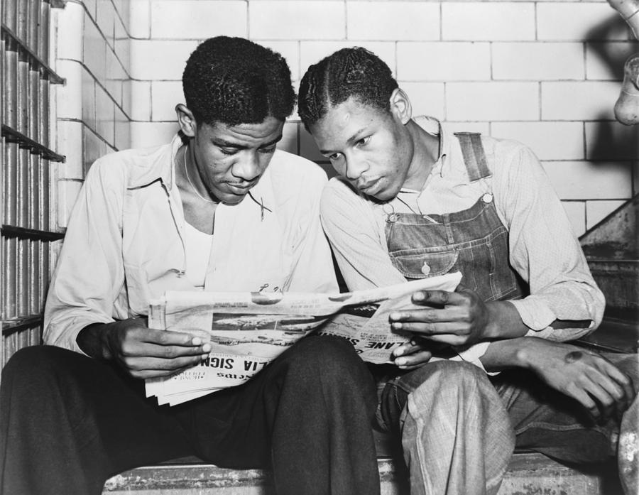 History Photograph - Clarence Norris And Charley Weems, Two by Everett