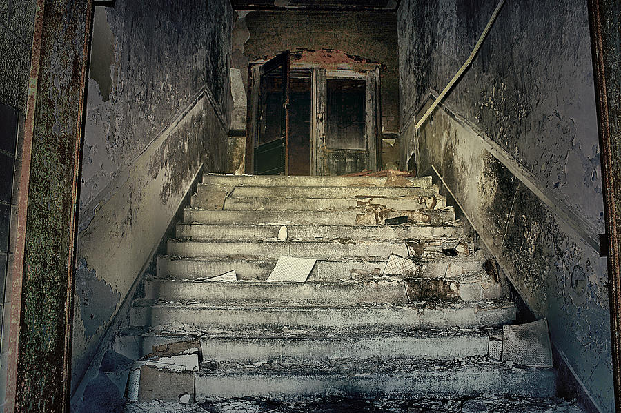 Flint Photograph - Clark School 20 by Scott Hovind