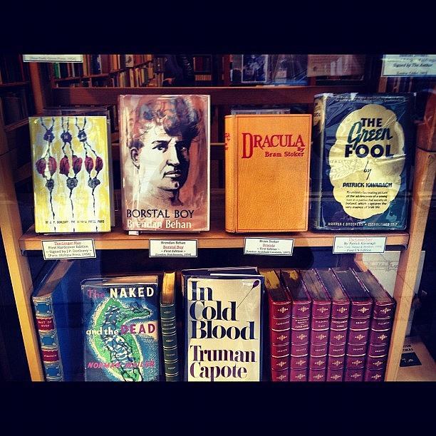 Bookstore Photograph - Classic Books #bookstore #dublin by David Lynch