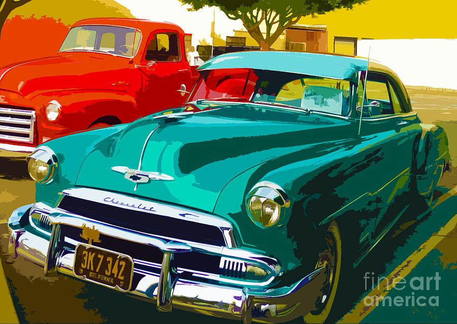 Chevrolet Photograph - Classic Chillin by Kimberley Joy Ferren