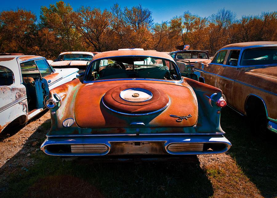 Classic Chrysler Photograph by Sonja Quintero