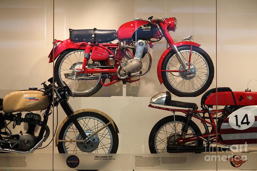 Classic Italian Motorcycles . 1956 Benelli 125cc Leoncino