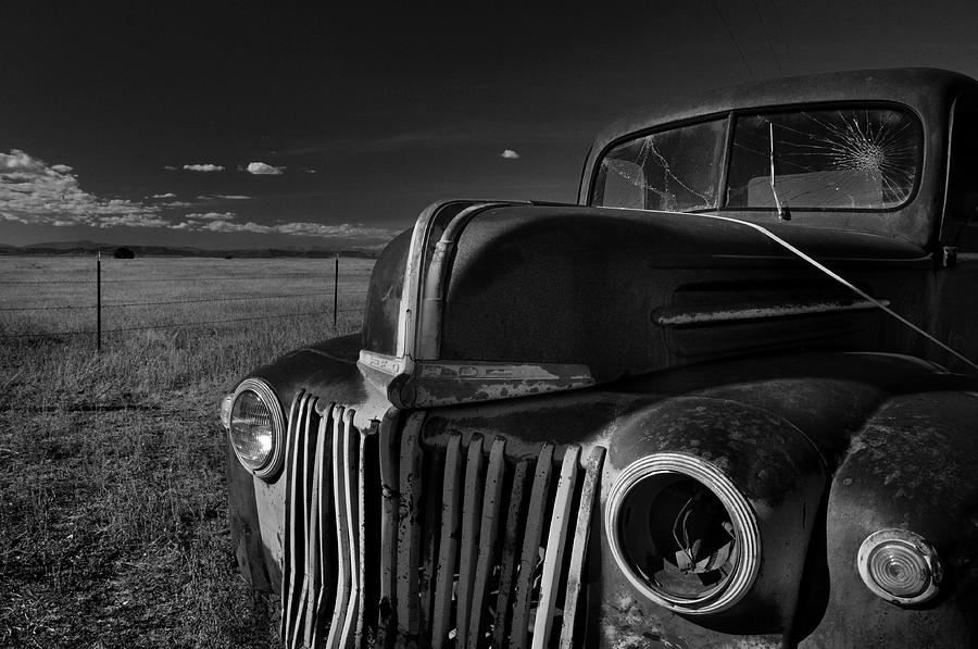 Abandoned Photograph - Classic Rust by Ron Cline