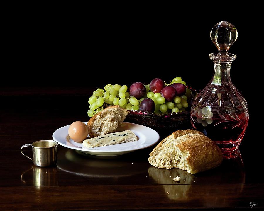 Classic Still Life Photograph by Endre Balogh