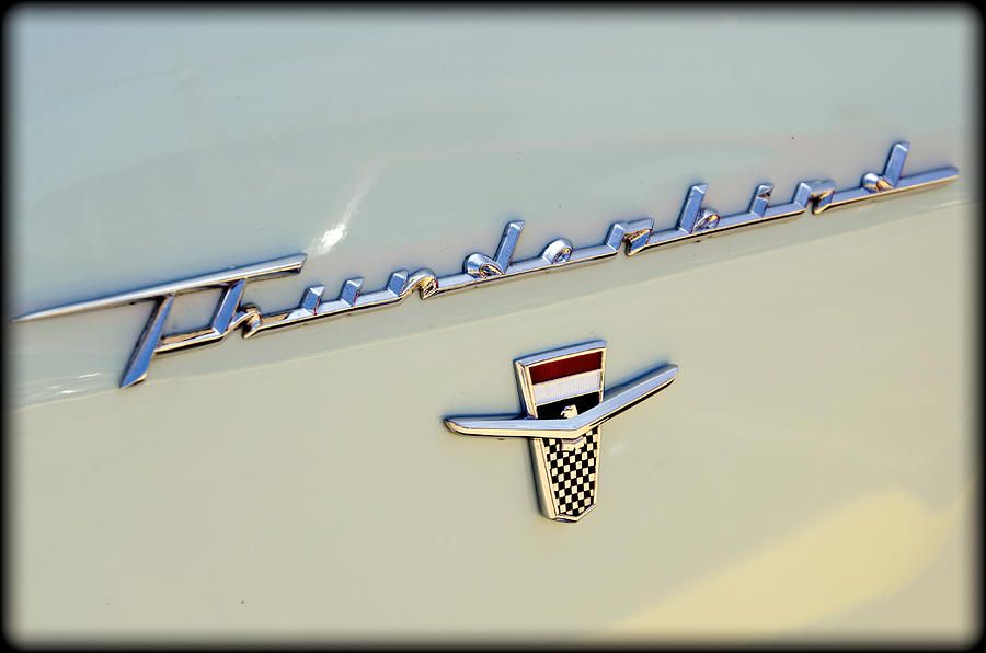 Ford Photograph - Classic T-bird by Ricky Barnard