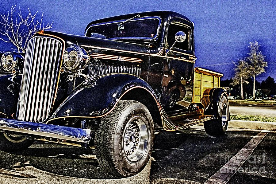 Classic Truck Hdr Pickup Truck Photo Pictures Photos Picture ...