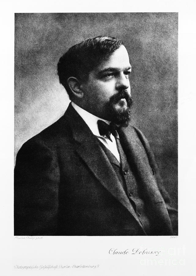 History Photograph - Claude Debussy, French Composer by Photo Researchers