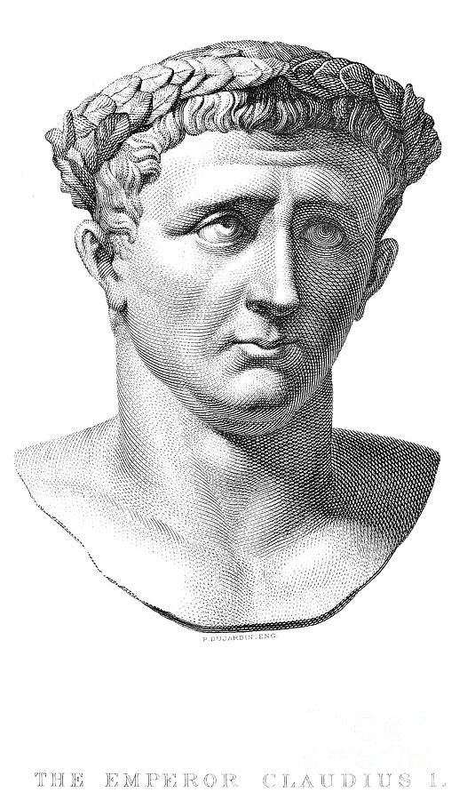 1st Century Photograph - Claudius I (10 B.c.-54 A.d.) by Granger