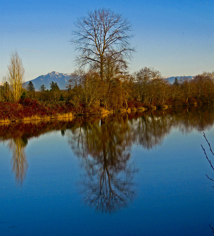 Washington State Photograph - Clear And Cold by Seth Shotwell