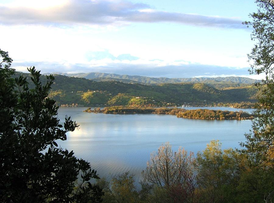 Clear Lake Photograph - Clear Lake California 2 by Will Borden