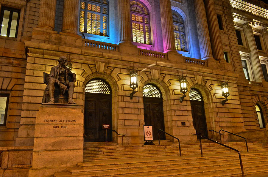 Court Photograph - Cleveland Court House by Frozen in Time Fine Art Photography