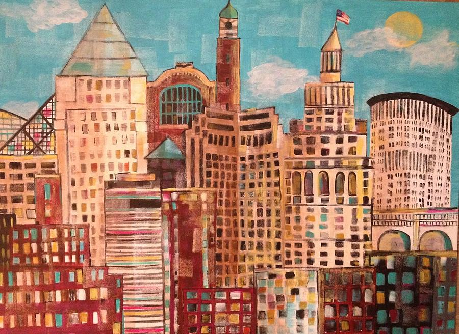 Original Painting - Cleveland by Kelli Perk