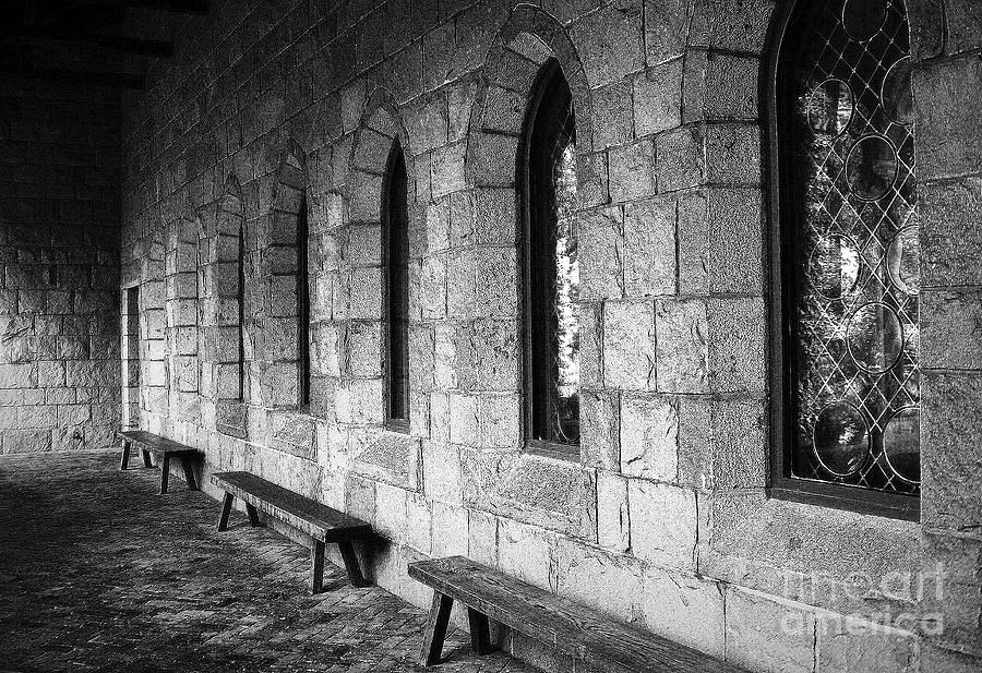 The Cloisters Photograph - Cloisters by Maria Scarfone