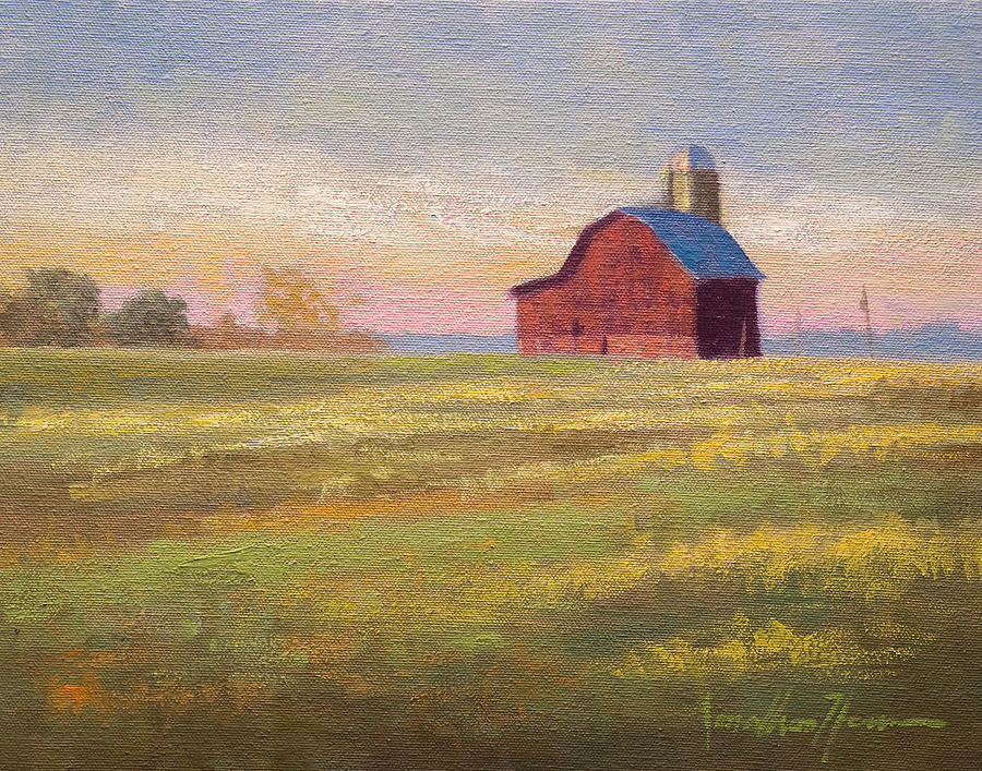 Landscape Painting - Close To Home by Jonathan Howe