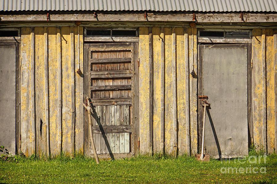 Closed Photograph - Closed Doors by Lutz Baar