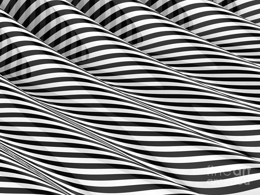 Waves Digital Art - Closer by Steve Young