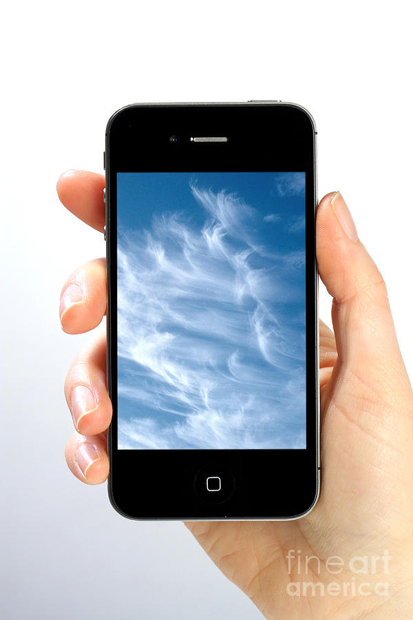 App Photograph - Cloud Computing by Photo Researchers