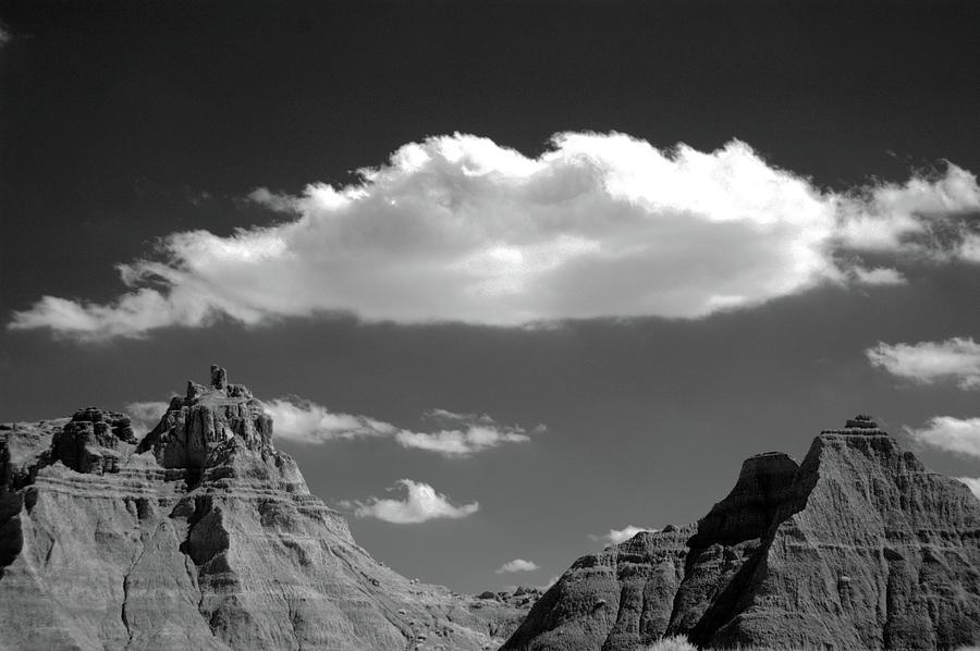 Horizontal Photograph - Cloud Over Mountain Range by Hiro Oshima - www.zibili.com