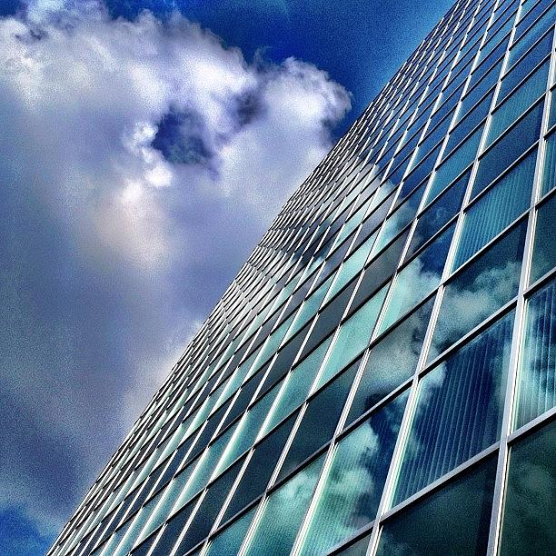 Perspective Photograph - Cloud Reflections by Christopher Campbell