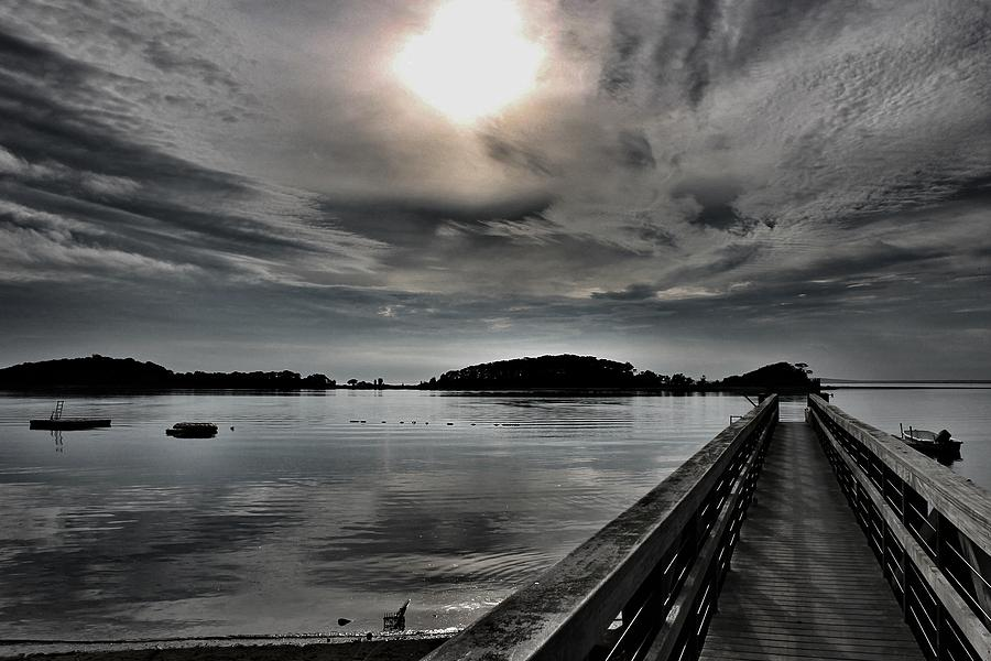 Waterscape Photograph - Cloud Unexpected by Lori Cooney