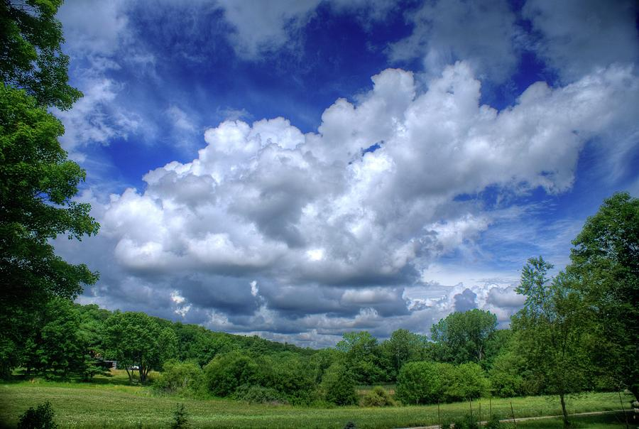 Clouds Photograph - Clouds by Matthew Green