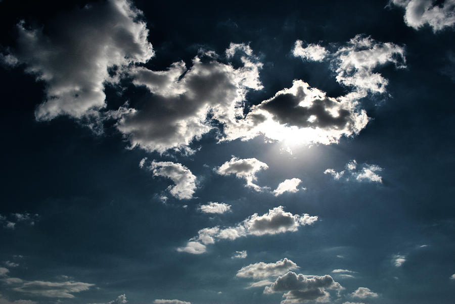 Clouds Photograph - Clouds On A Sunny Day by Sumit Mehndiratta