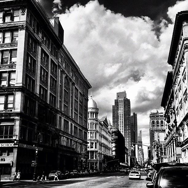 New York City Photograph - Clouds Over Chelsea - New York City by Vivienne Gucwa