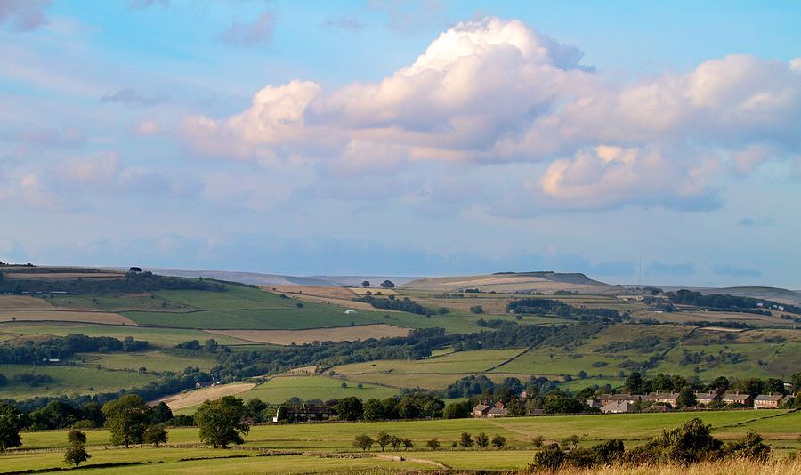 Landscape Photograph - Clouds Over The Peak District by Matt Blonc