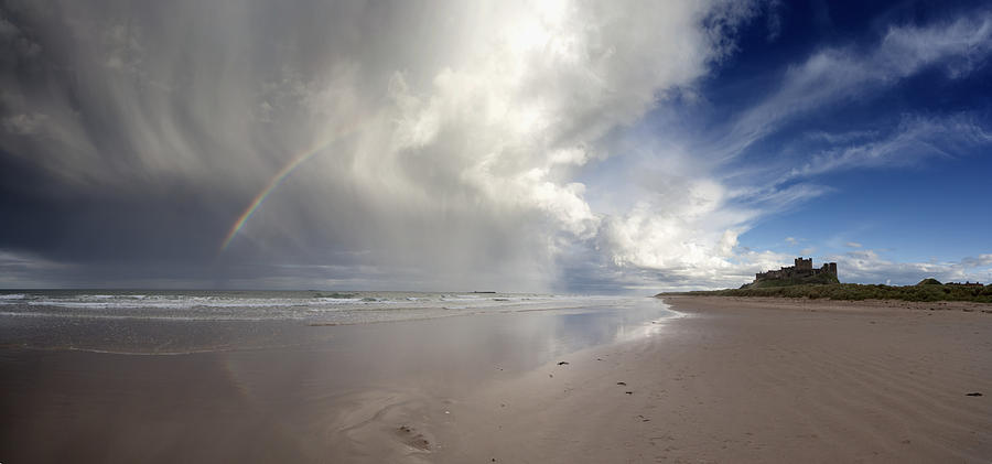 Sunlight Photograph - Clouds Reflected In The Shallow Water by John Short