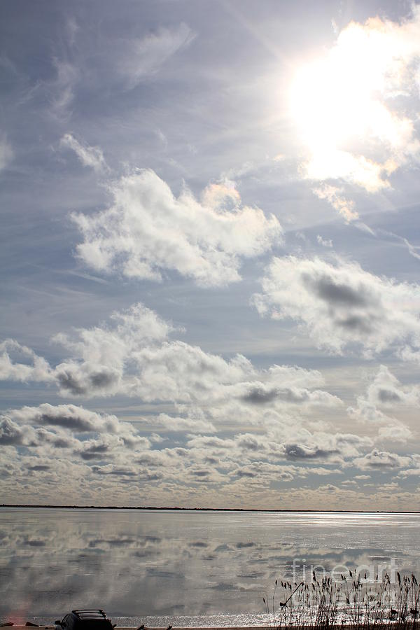 Clouds Photograph - Clouds by Scenesational Photos