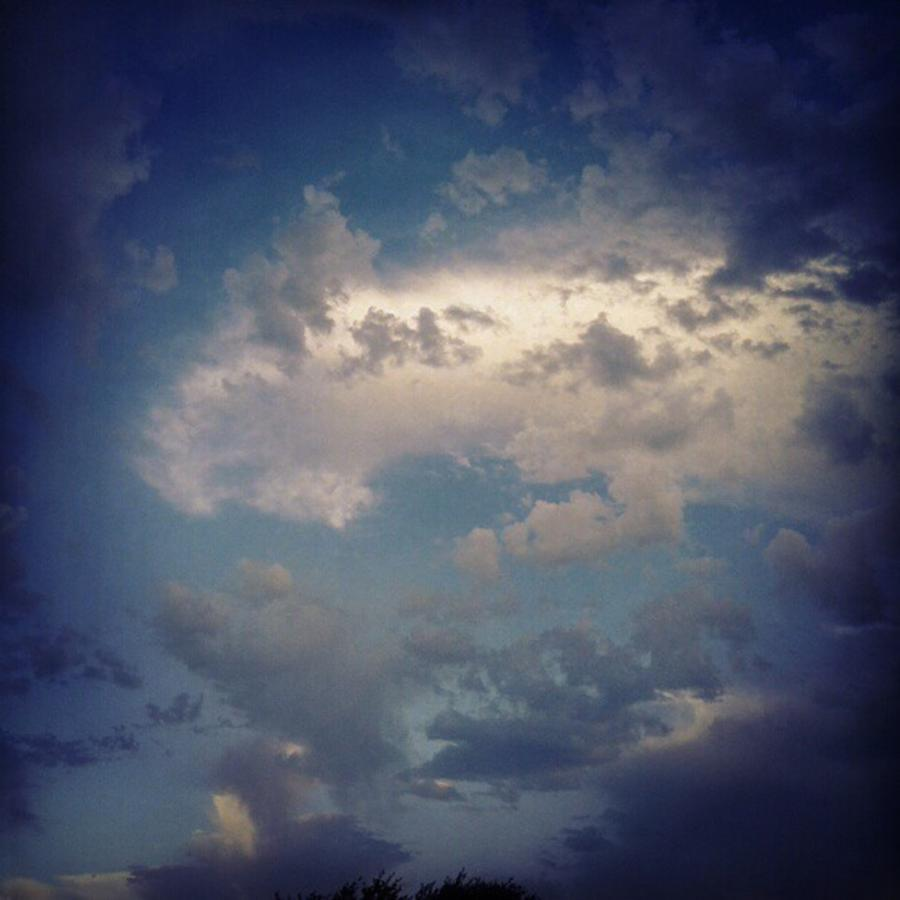 Clouds Photograph - #clouds #sky #nature #andrography by Kel Hill
