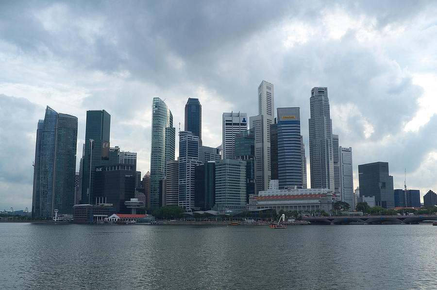 Cloudy Day In The City Photograph by Jojo Sardez