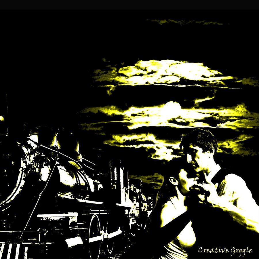 Tango Digital Art - Cloudy Nights by Creative Goggle