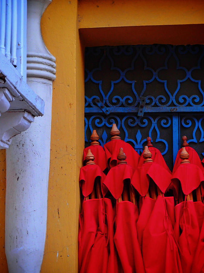 Cartagena Photograph - Club Colombia by Skip Hunt