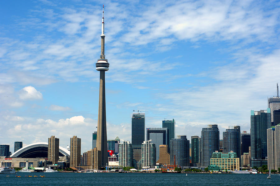 Toronto Photograph - CN Tower by Jeff Ross