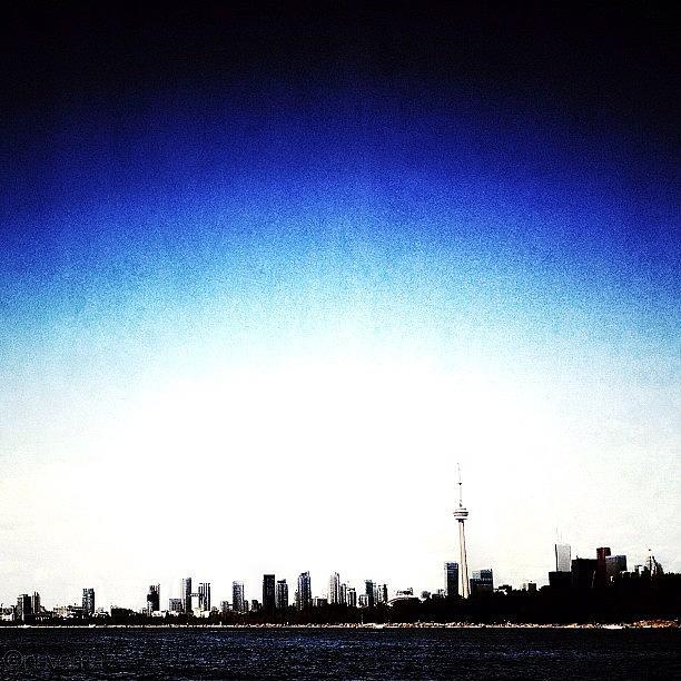 Canada Photograph - Cn Tower Series: Skyline by Natasha Marco