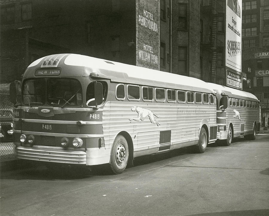 Horizontal Photograph - Coach by George Marks