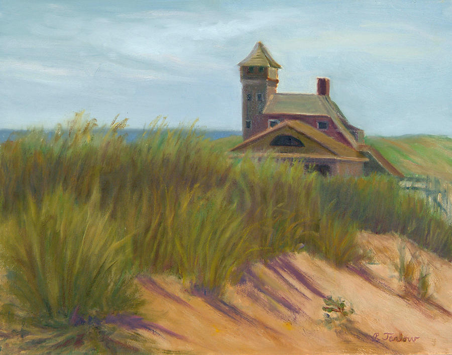 Landscape Painting - Coast Guard Beach Cape Cod by Phyllis Tarlow