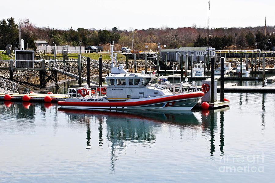 Cape Cod Photograph - Coast Guard by Extrospection Art