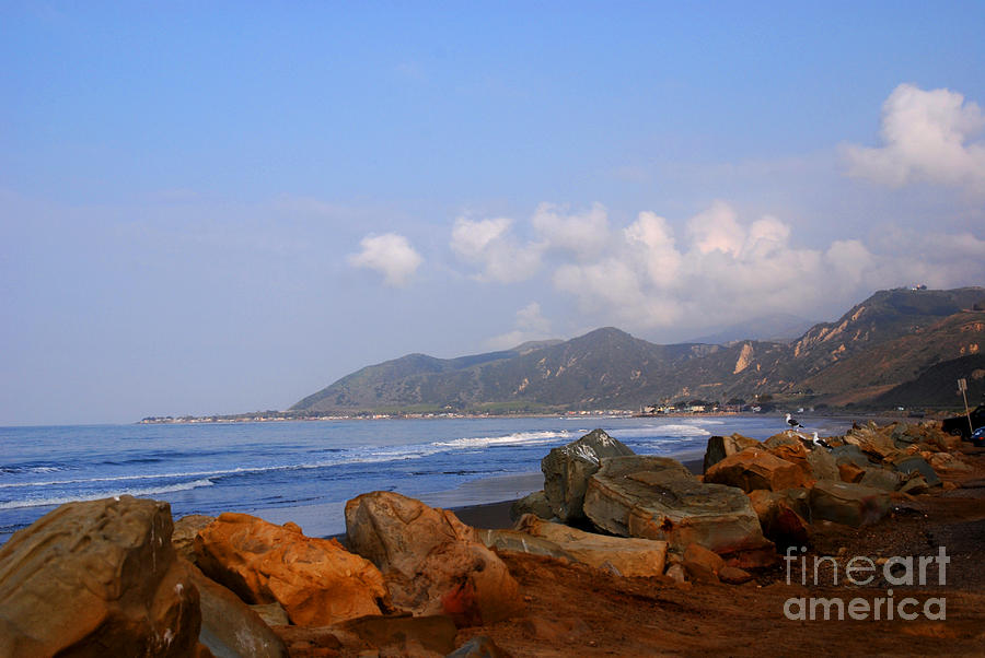 Coast Line Photograph - Coast Line California by Susanne Van Hulst