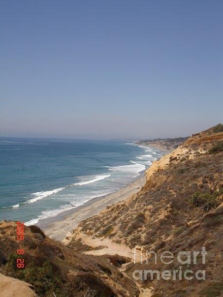 Coast Line Photograph - Coast Line San Diego by Carol Wright