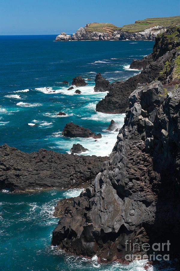 Azores Photograph - Coastline by Gaspar Avila