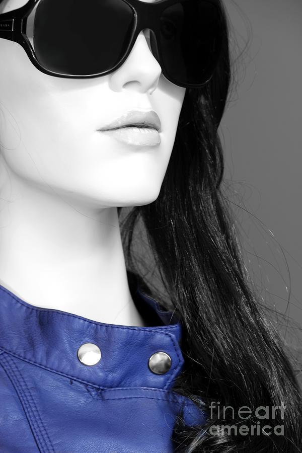 Cobalt Photograph - Cobalt Blues by Sophie Vigneault