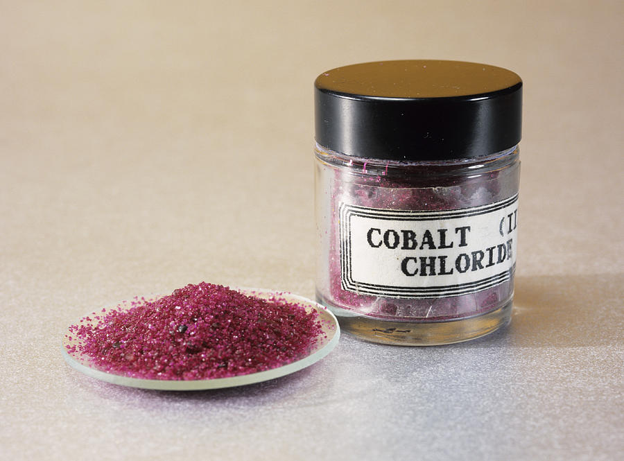Chemical Photograph - Cobalt Chloride by Andrew Lambert Photography